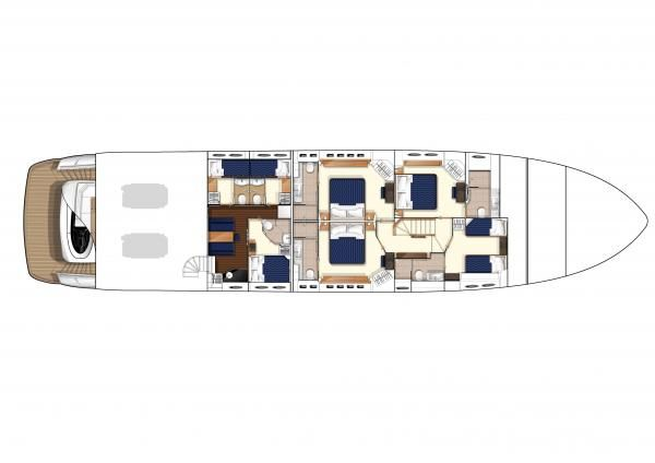 Four Stateroom Layout