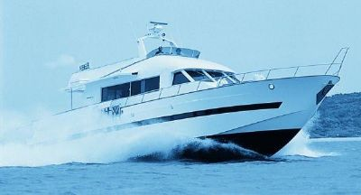 Tarquin Motor Yachts 66 Boat at speed