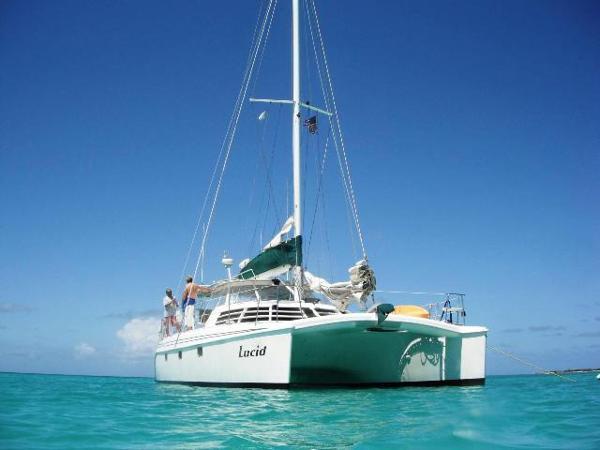 Manta 42 MK II Sail Catamaran Lucid