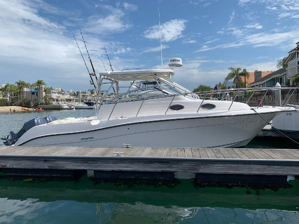 Seaswirl Striper 2901 Walkaround O/B Side Profile