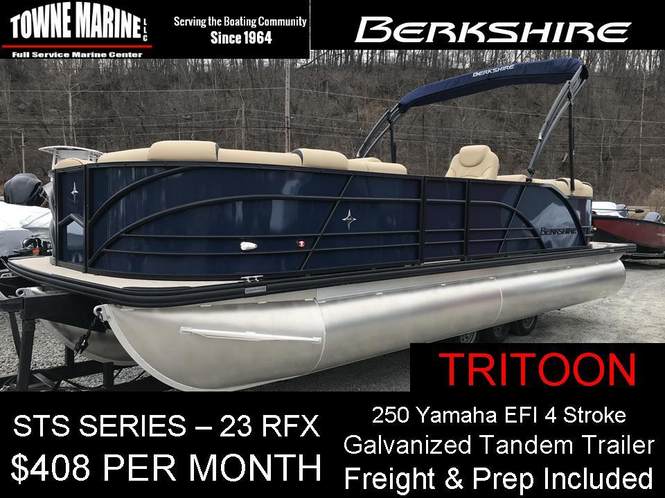 Berkshire STS 23 RFX 3.0 Tritoon