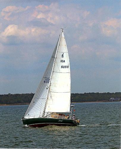J Boats J/46, J-46, J/46 J Boats J/46, J-46, J/46 ARIEL Full sail