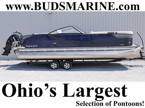 Crest Pontoon Boats Continental 250 SLS
