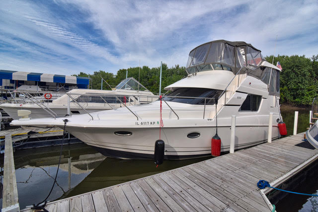 Silverton 352 Motor Yacht - Fresh Water History