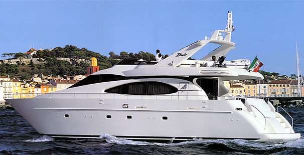 Azimut 70 Flybridge Manufacturer Provided Image