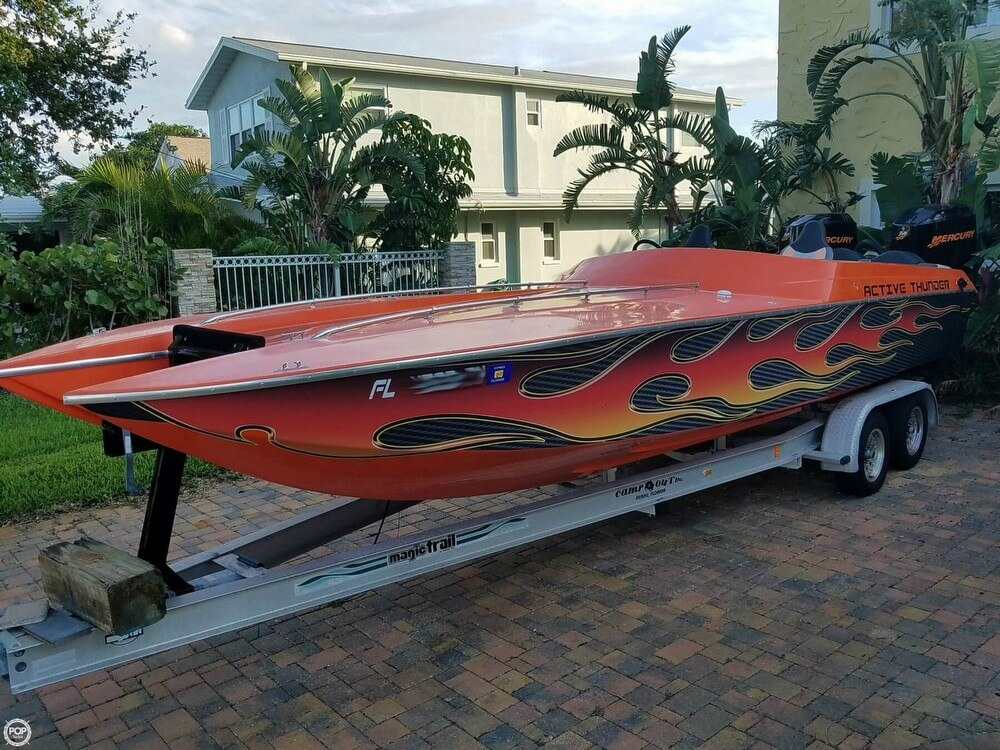 Active Thunder 24 Thunder Cat 1990 Active Thunder 24 for sale in Saint Petersburg, FL