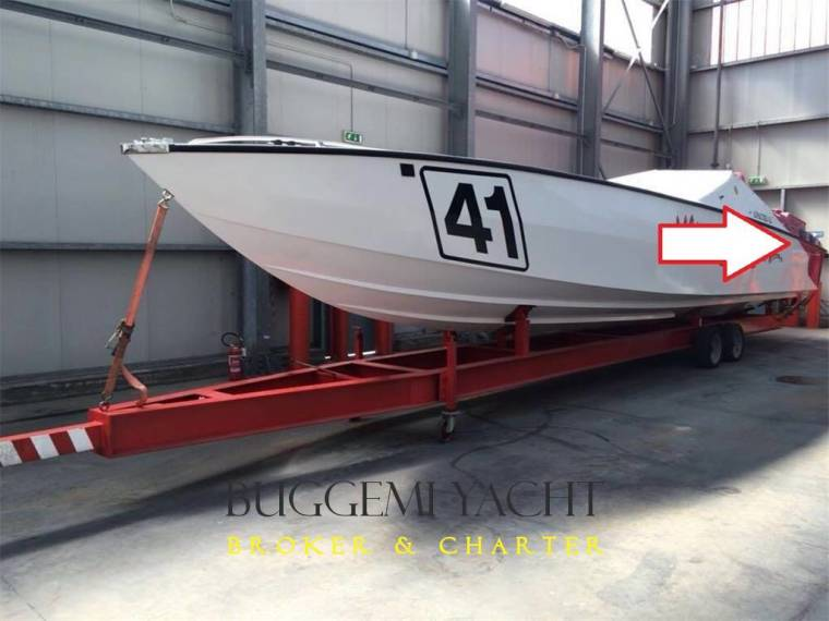 Apache Powerboats 41