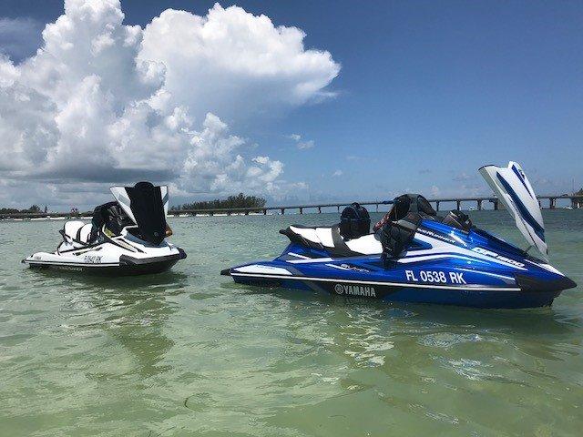 Yamaha GP1800 and VX Cruiser HO