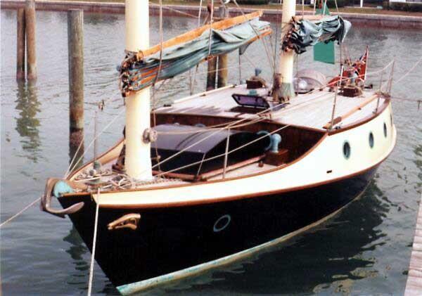 Benford 34 Sailing Dory Badger 34 Benford Sailing Dory unfinished