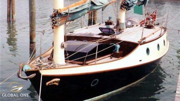 Benford 34 Sailing Dory Badger