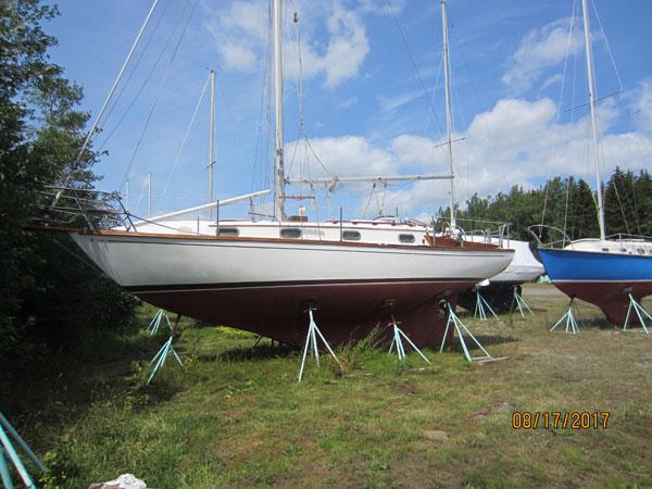 Cape Dory 30 sail