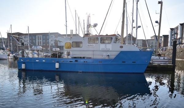 Commercial Mobimar 12.5m Aluminium Survey Vessel