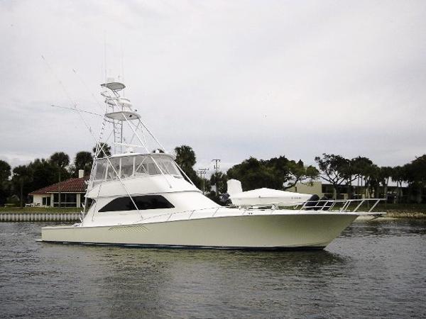 Viking 61 Convertible Starboard Profile