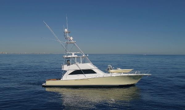 Viking 61 Convertible Main Starboard Profile