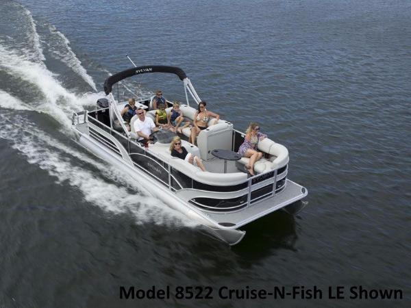 Sylvan 8520 Cruise-n-Fish LE
