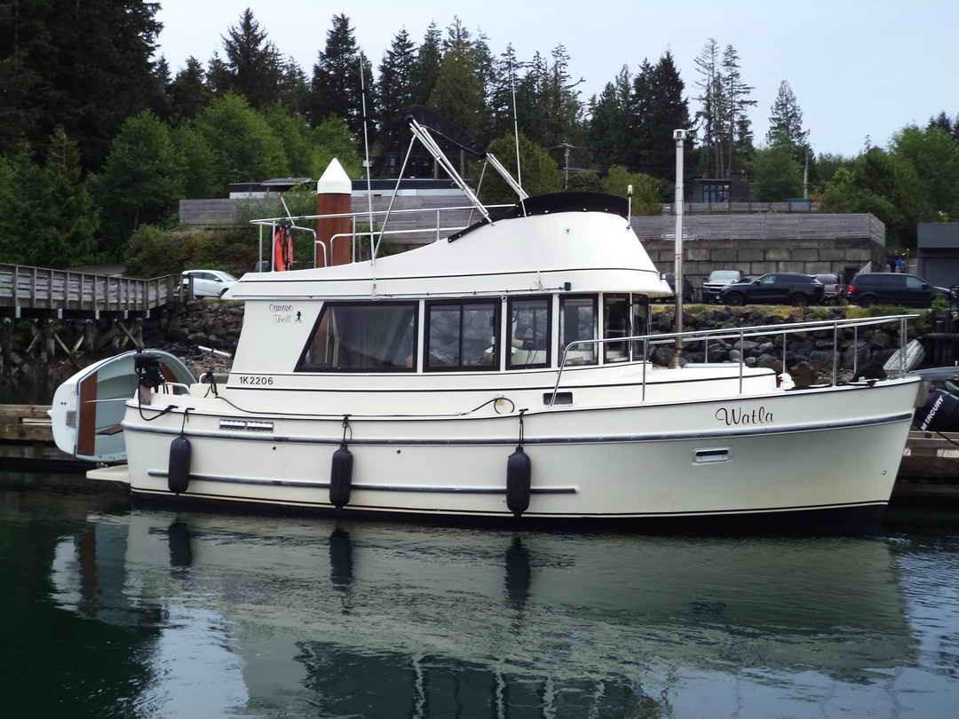 1991 Camano Trawler, Pilothouse, Cruiser, Tofino British ...