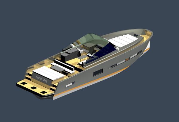 Med Yachts 48 Med Yacht 48