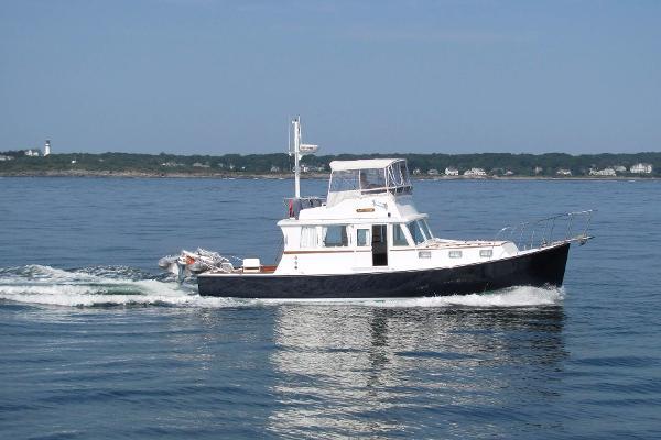 Seaworthy Flybridge Cruiser Running Profile