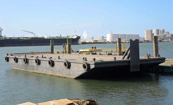 Custom Dumb Pontoon Barge