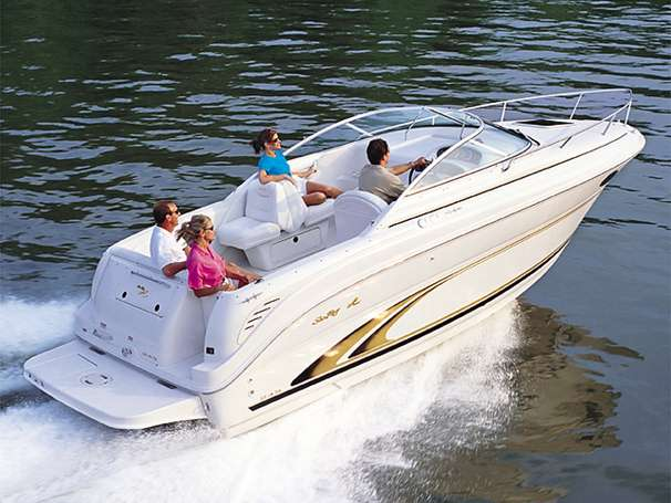 Sea Ray 245 Weekender Manufacturer Provided Image