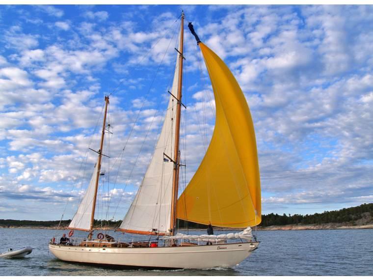 Deutsche Werke Klassische deutsche Yacht