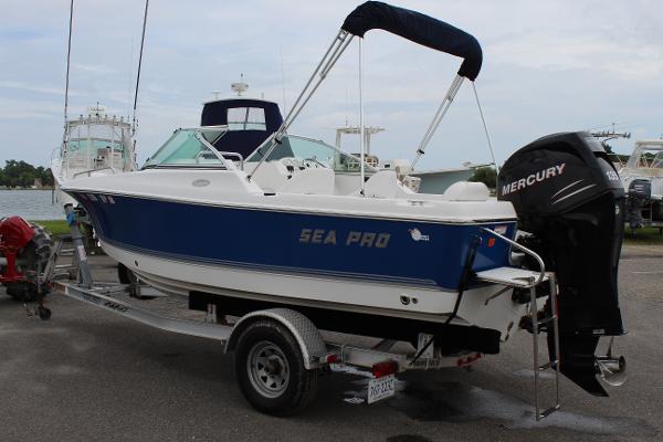Sea Pro 186 Dual Console