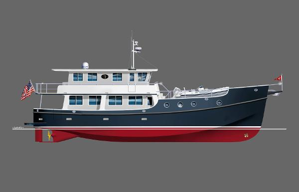 Great Harbour Trawler GH74