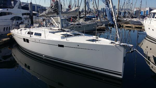 Hanse 505 On our docks in N Van