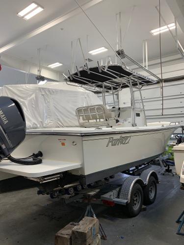 Parker 2300 Deep Vee Center Console Parker 2300DV Center Console For Sale Used Boat