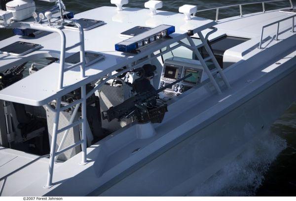 14m Patrol Boat Helm