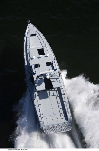 14m Fast Patrol Boat Top View