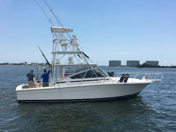 Blackfin 38 Combi Express Profile