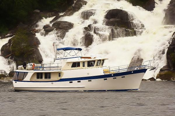 Kadey-Krogen 58' Pilothouse Trawler Waterfall
