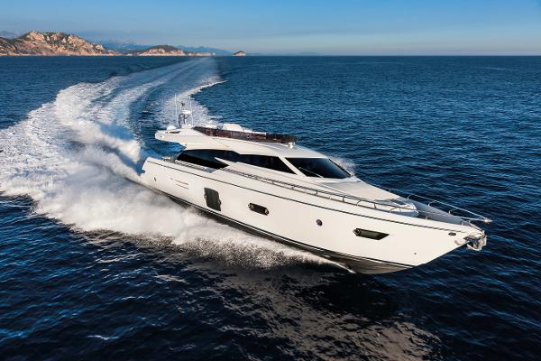 Ferretti Yachts 750 Manufacturer Provided Image: Ferretti 750
