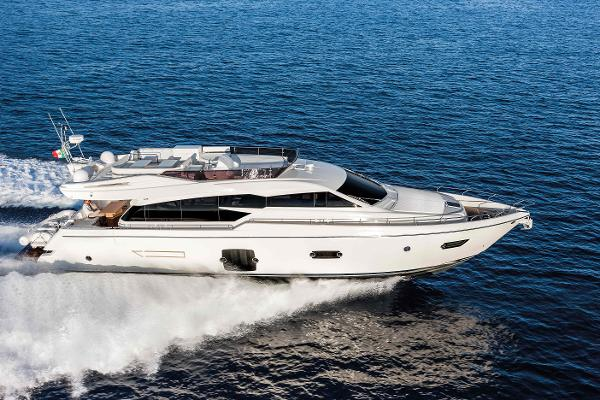 Ferretti Yachts 750 Manufacturer Provided Image: Ferretti 750 Running Shot