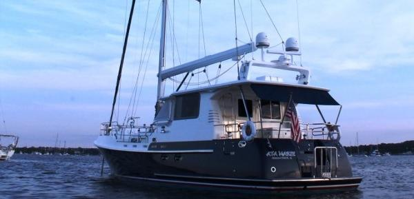 Nordhavn 56 Motorsailer Exterior Close-Up