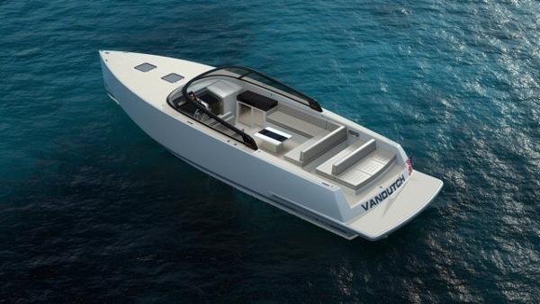 VanDutch 40 Superyacht Edition