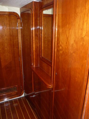 Forward Port Stateroom Lockers