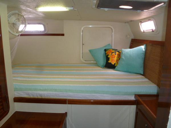 Port Aft Cabin Double Berth