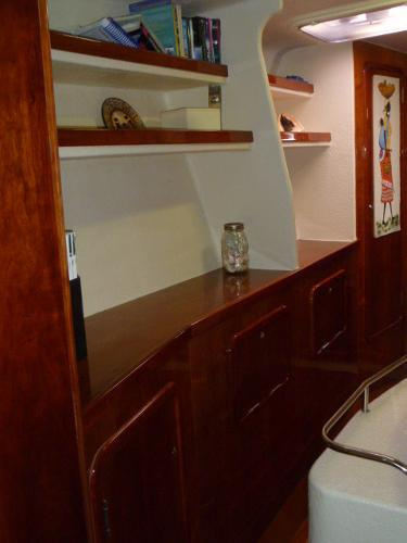 SB Midships Cabinetry & Library