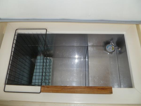 Spotless Freezer Interior