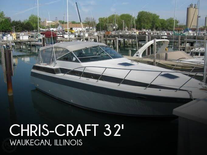 Chris-Craft 320 Amerosport 1987 Chris-Craft 320 Amerosport for sale in Waukegan, IL