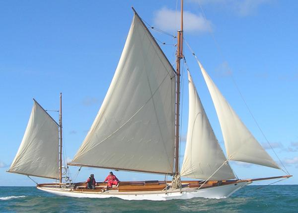 Stow and Son Gaff Yawl 1895