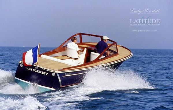 Latitude 46 Lady Scarlett Stern