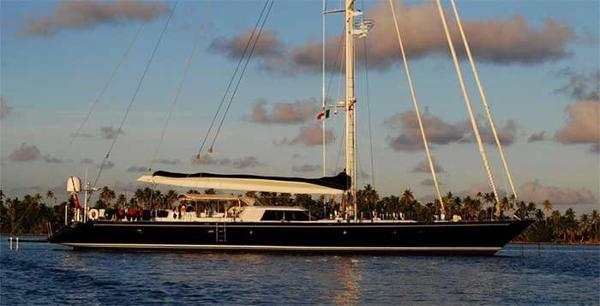 Royal Huisman 34m luxury sailing yacht