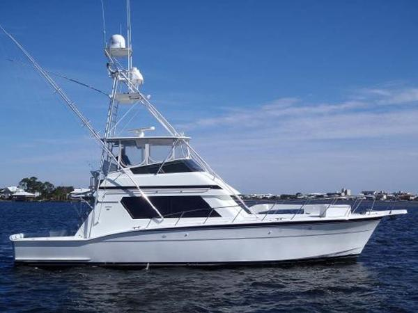 Hatteras Convertible Side Profile