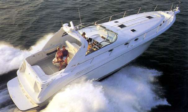Sea Ray 450 Sundancer w/420hp Cats