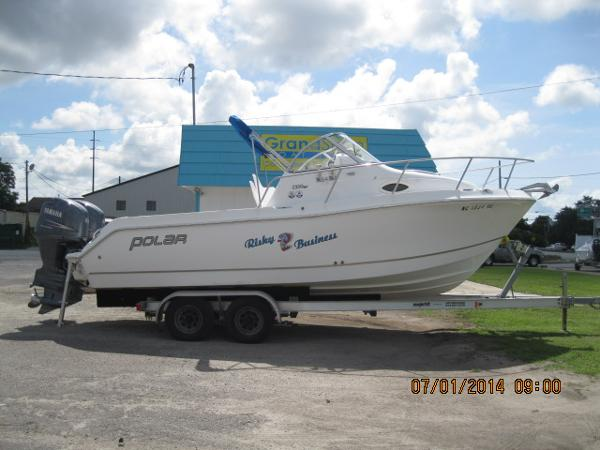 Polar Boats 2300 Walkaround
