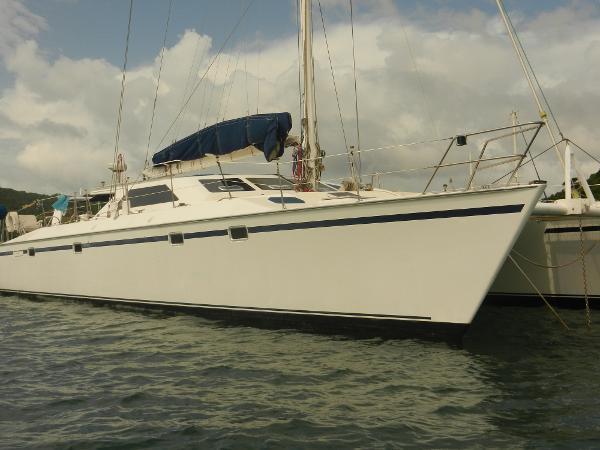 Catamaran G & B Mitchell Design NZ