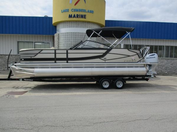 Crest Pontoon Boats Caribbean 250 Continental SLR2